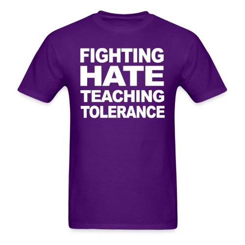 Fighting hate teaching tolerance